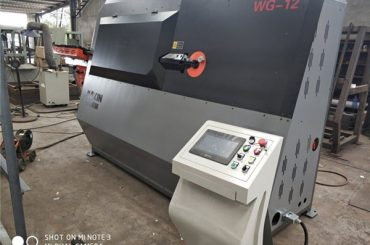 tvornički dvokrevetni automatski stroj za savijanje stupa