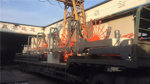 Stroj za proizvodnju kaveza od čelika