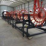 cnc armatura pile čelične rebar kavezni zavarivanje izradu stroja