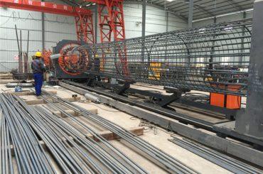 napravljen u Kini jednostavan rad trajni i čvrst osiguranje kvalitete čelika rebar kavez za zavarivanje stroja i armiranje kaveza izradu